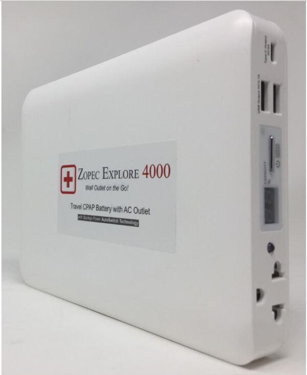 Zopec Explore 4000 CPAP Battery